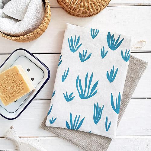 Waschhandschuh - Seaweed