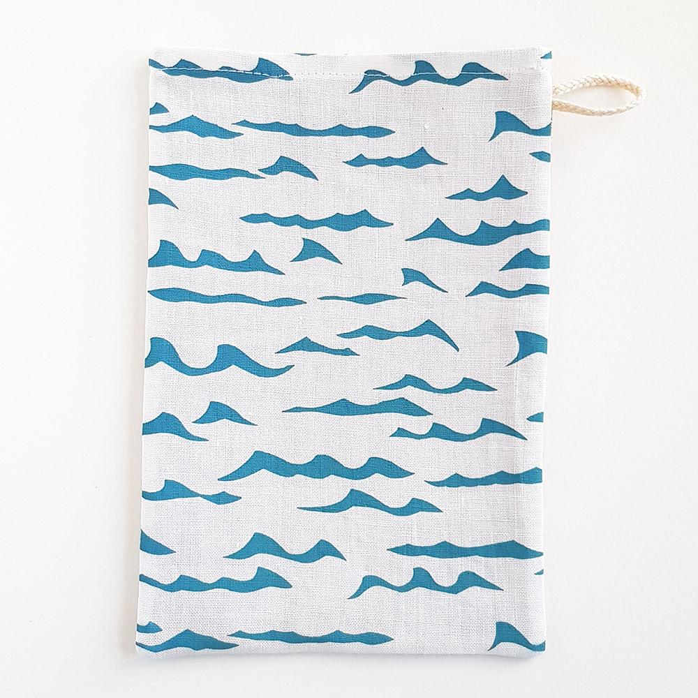 Waschhandschuh - Waves