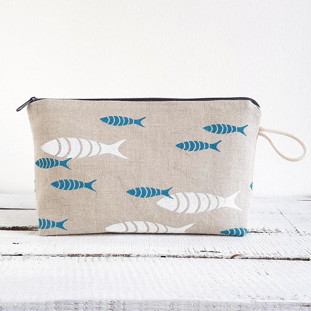 Kosmetiktasche Fische
