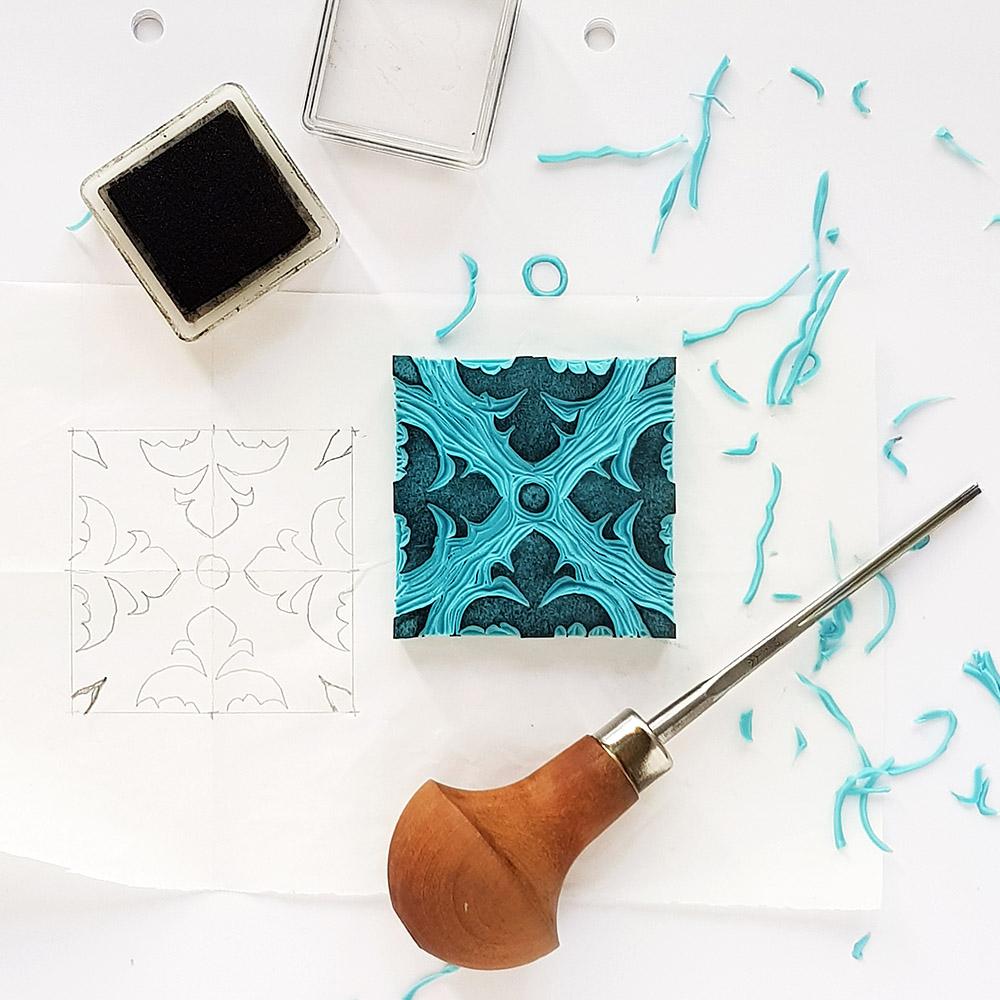 Azulejo Druck-Workshop
